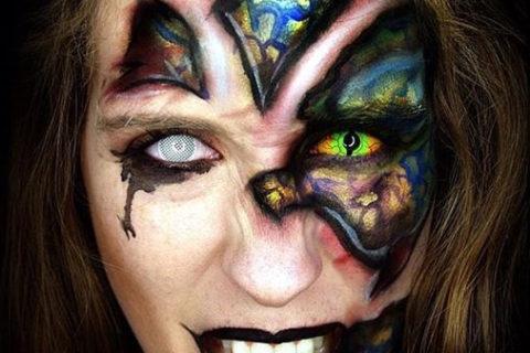 Jak zazářit na Halloween? Zkuste crazy čočky a budete in!