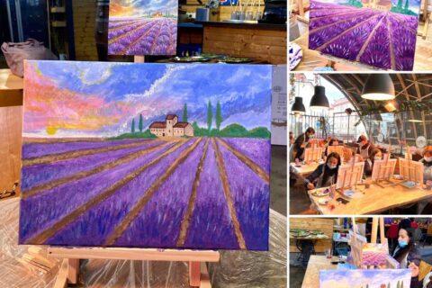 Zážitkové malování jako lék proti stresu