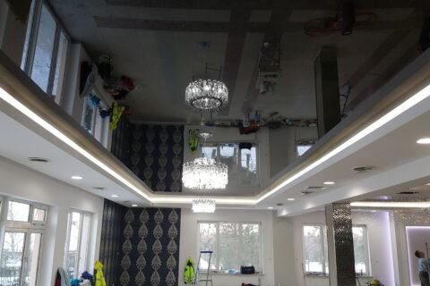 Napínané stropy jako designový prvek v interiéru