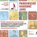 Pardubické hudební jaro 2019 získalo generálního partnera, zveřejnilo program a zahájilo předprodej vstupenek