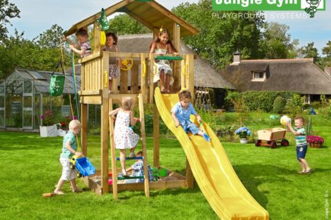 Jak vybrat zahradní dětské hřiště?