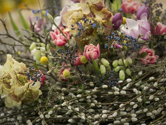 Přehlídka talentu nejlepších floristů Česka a Německa