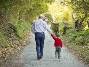 hlídání dětí - procházka