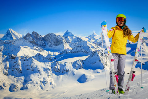 Nudí vás obyčejné sjezdovky? Navštivte ty nejkrásnější lyžařské resorty v Evropě