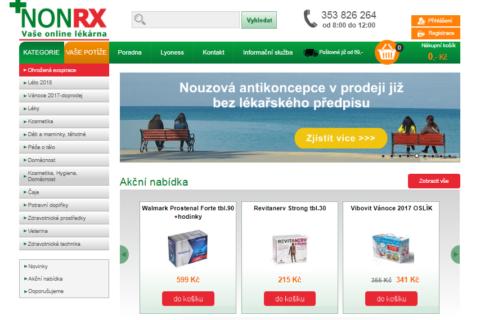 Jaké výhody přináší online lékárna nonRx?