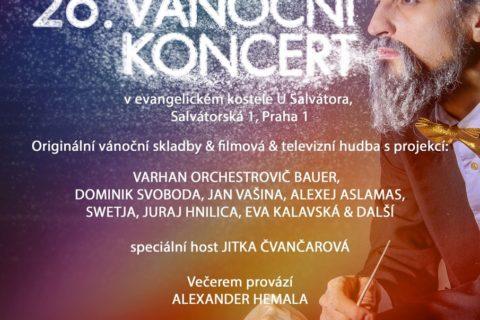 Vánoční koncert Varhana Orchestroviče