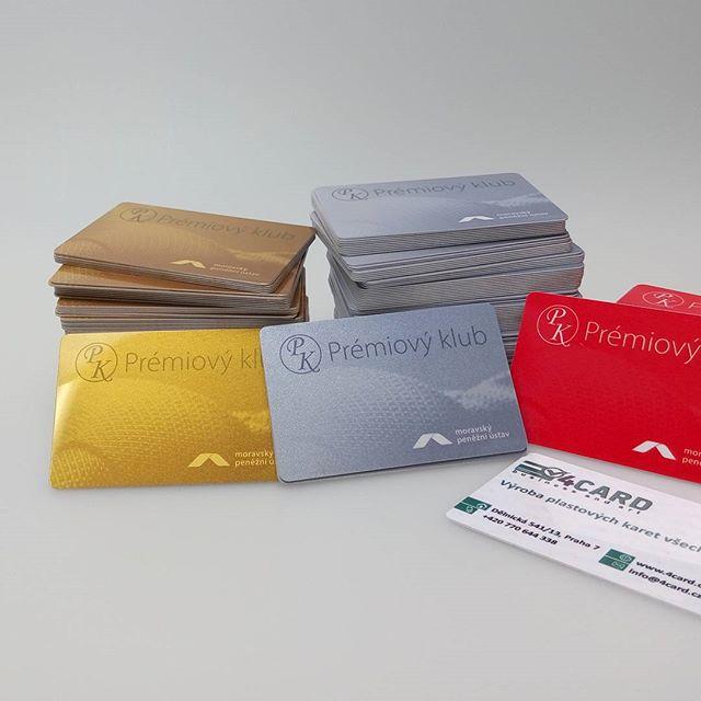 plastové karty - tělo