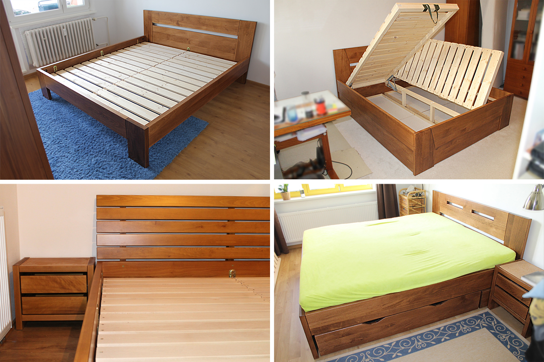 Ke kvalitnímu spánku pomohou postele z masivu