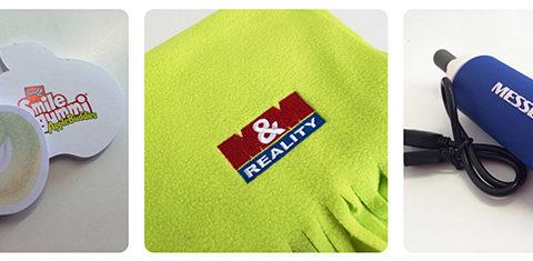 Vytvořte si reklamní textil s vlastní značkou